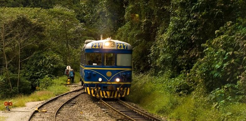 Tren a Machupicchu
